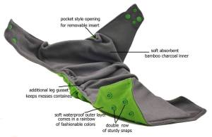 Kawaii and sunbaby cloth Diapers